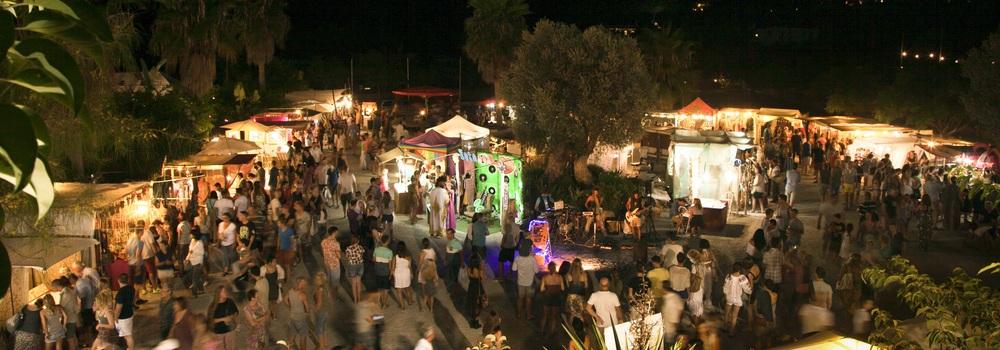 Night Market también los domingos de agosto