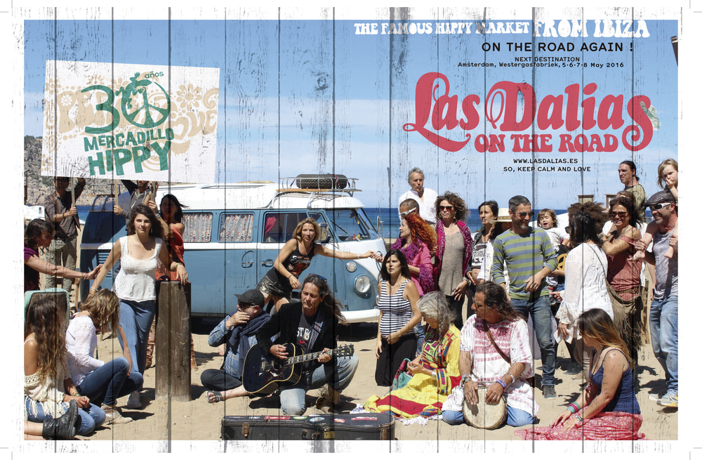 Las Dalias On the Road is coming... 5 - 6 - 7 - 8 May 2016