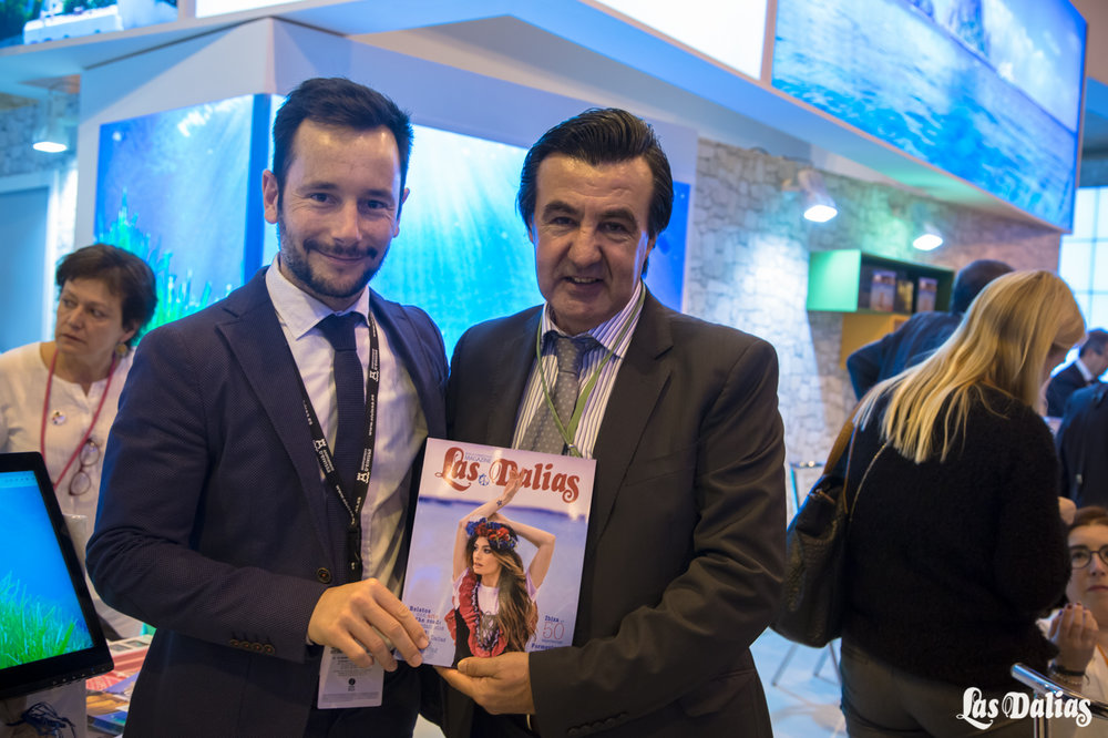 El alcalde de Ibiza, Rafa Ruiz,y Juanito de Las Dalias
