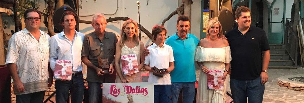 """GONZALO CALCEDO RECIBE EL PRIMER PREMIO INTERNACIONAL DE CUENTO """"LAS DALIAS"""""""