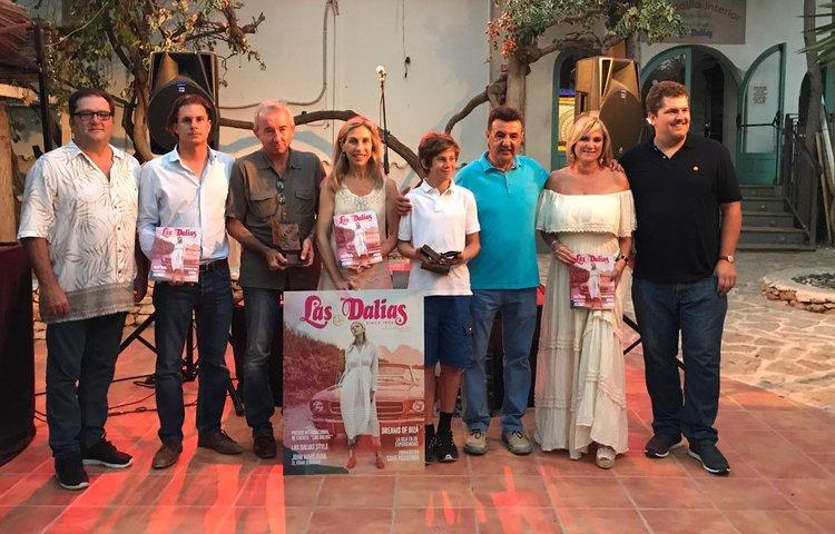 Entrega de los premios literarios Las Dalias