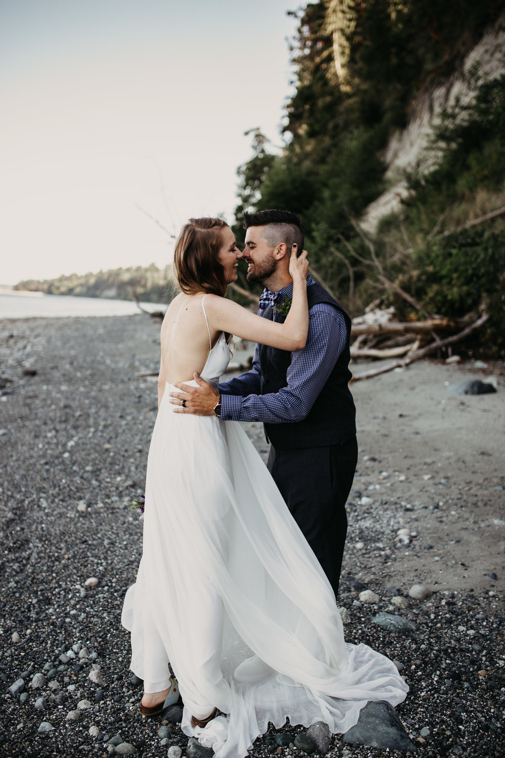 Matt & Erica - Seattle Coast Wedding