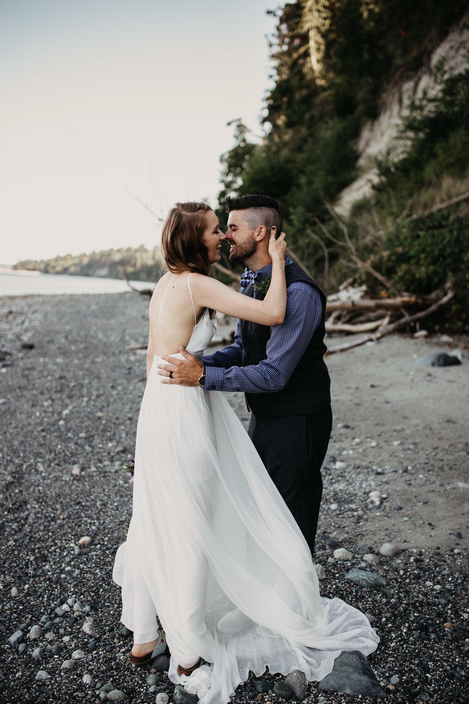 Matt & Erica - Seattle Coast Wedding