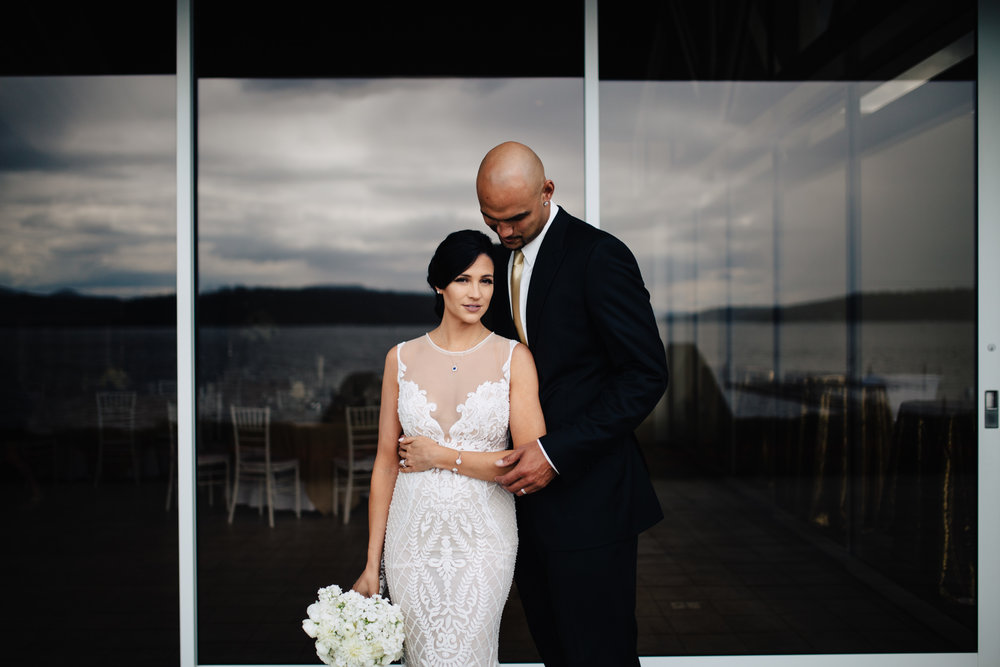 Rob & Vinessa - Couer d' Alene Wedding