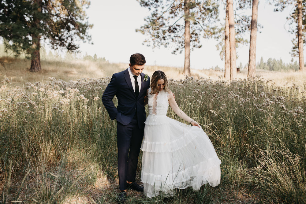 Josh & Rachel - Idaho Wedding