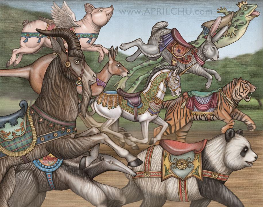 Carousel Race
