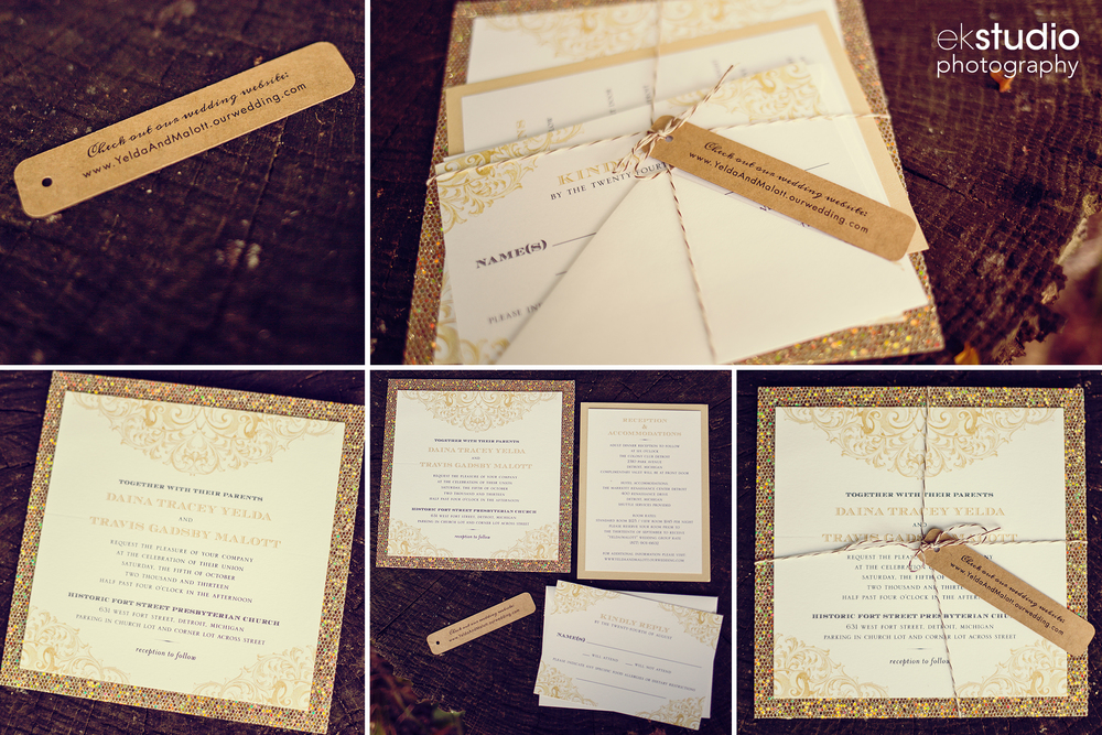 A few detailed snapshots of the invite.