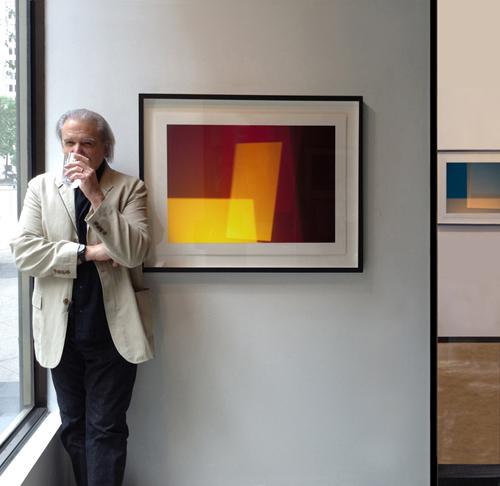 Artist Steven Silverstein, Esperson Gallery     CV→