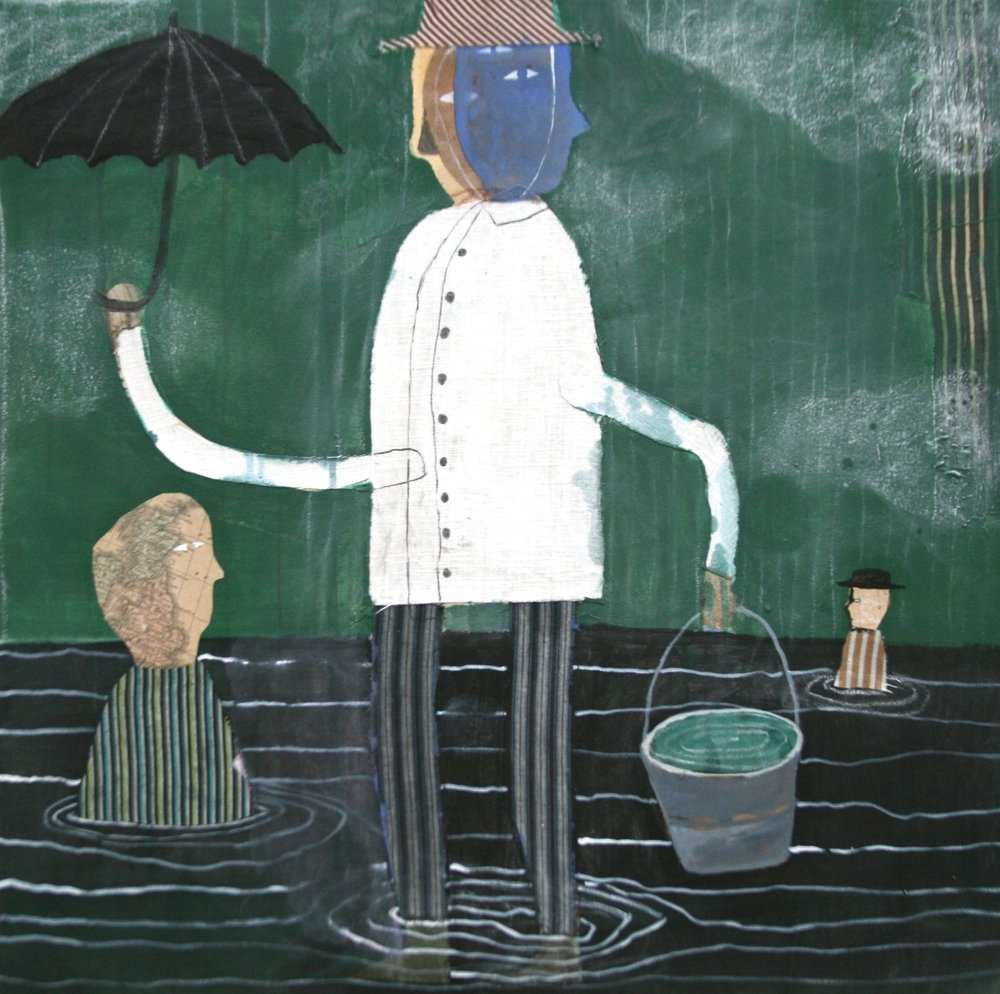 Song of the Water Seller in the Rain