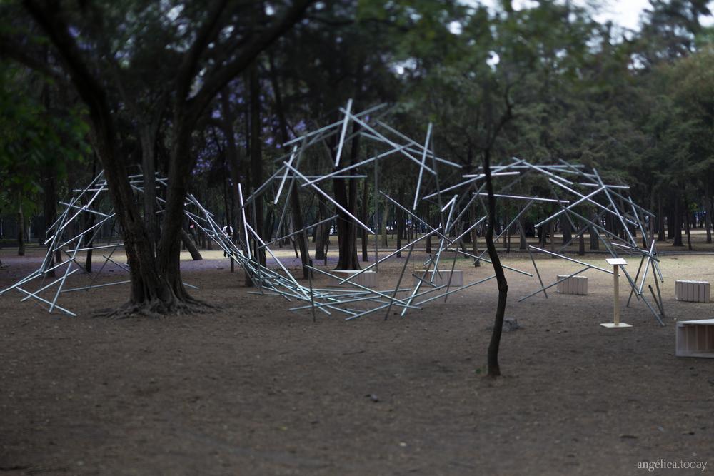 Pabellón Geodésico // Fotografía Angélica Ibarra
