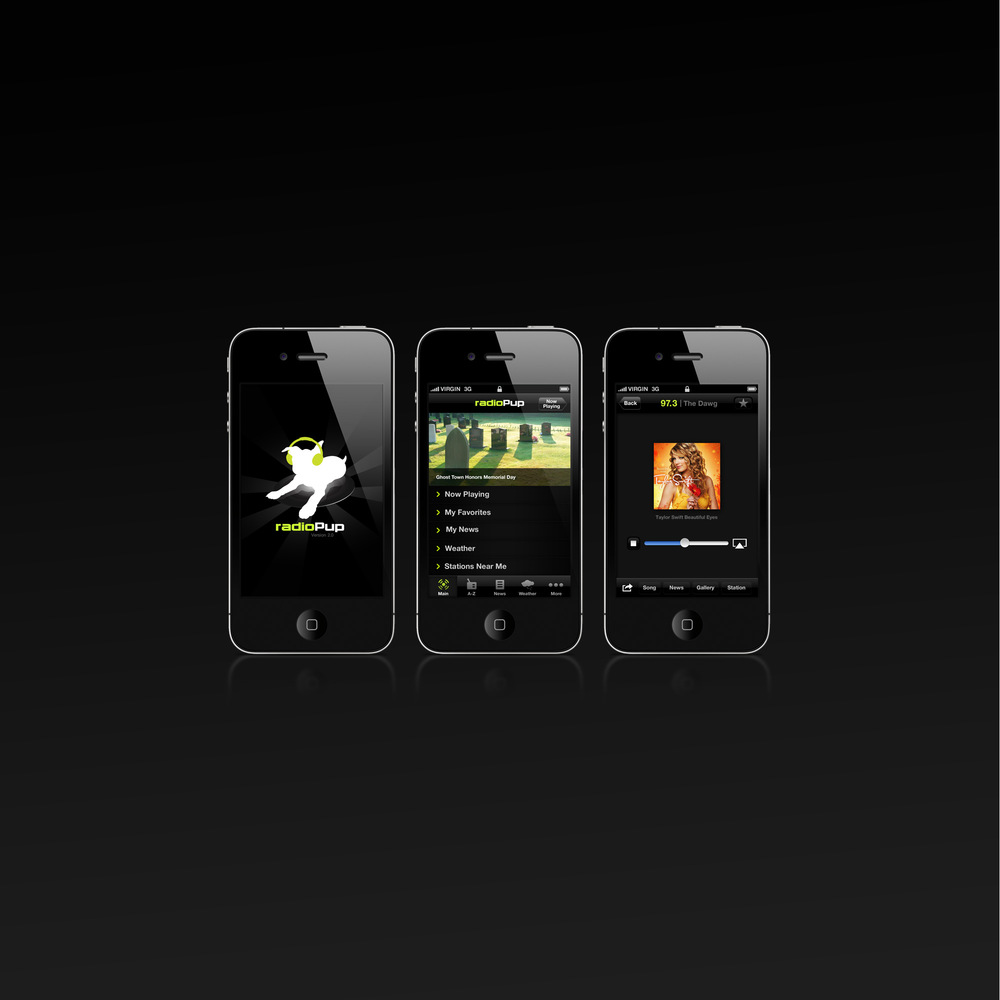 RadioPup iPhone App
