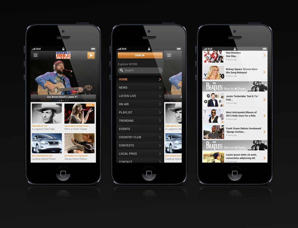 Townsquare Mobile Web Experience