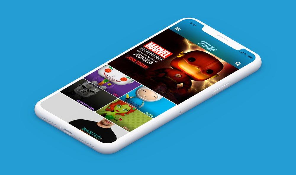 Consumer Application - UI/UX