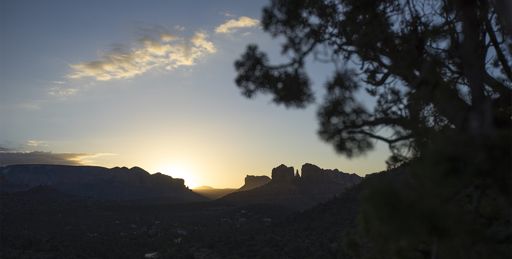 Sunrise in Red Rock State Park