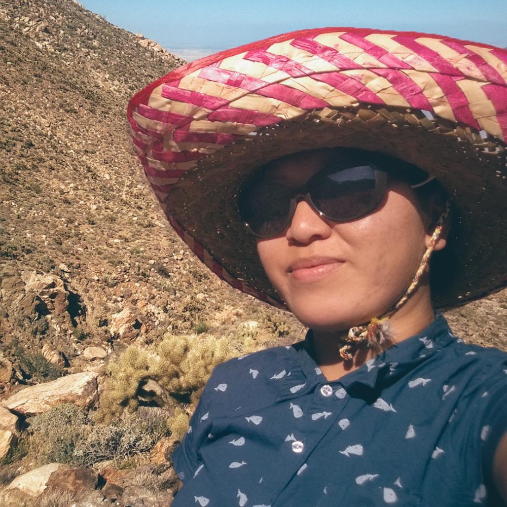 Rocking this sombrero so hard.