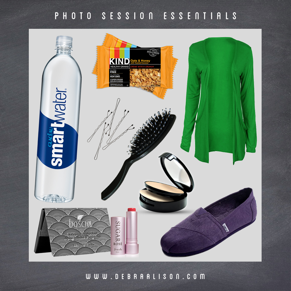 Debra Alison Photo Shoot Essentials