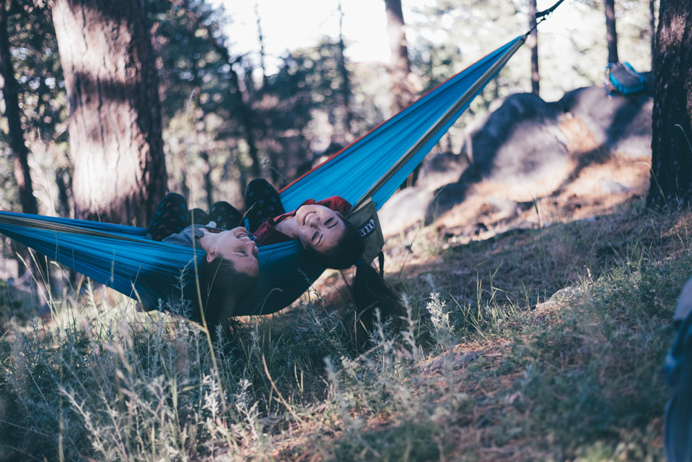 Couples Adventure Session Hammock