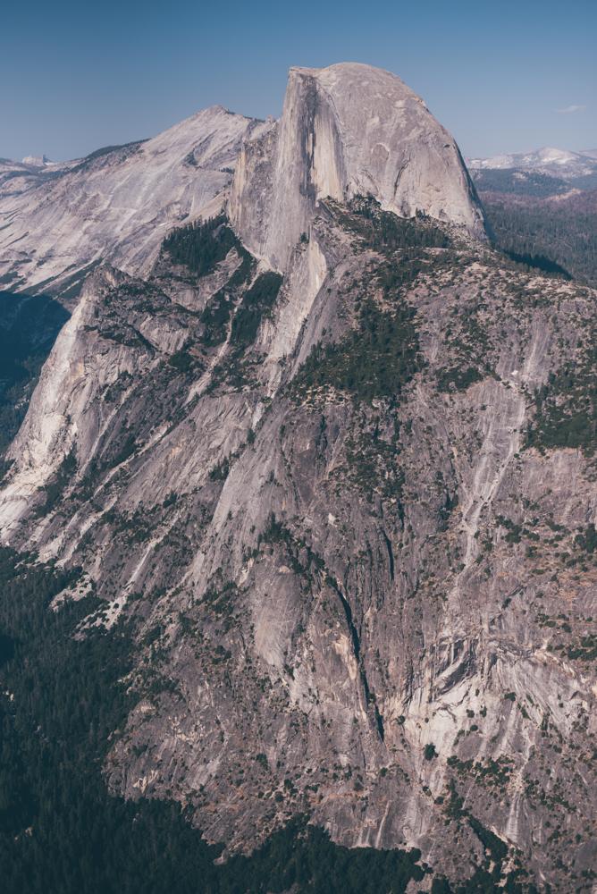 Half Dome from Glacier Point Yosemite