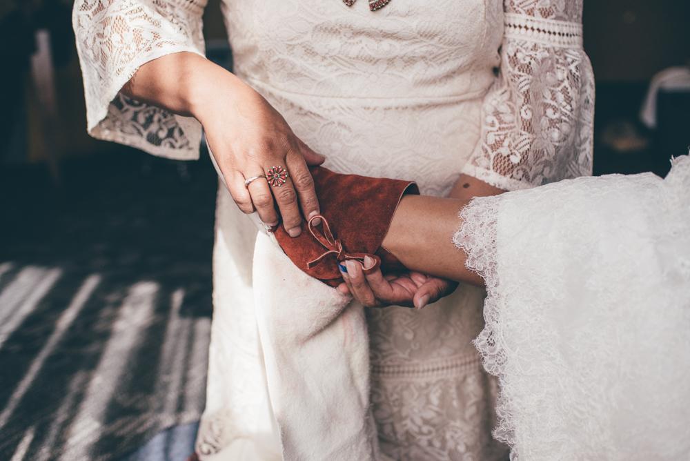 Navajo Wedding Moccasins Wrapping Debra Alison Photography Riverwalk Golf Club San Diego