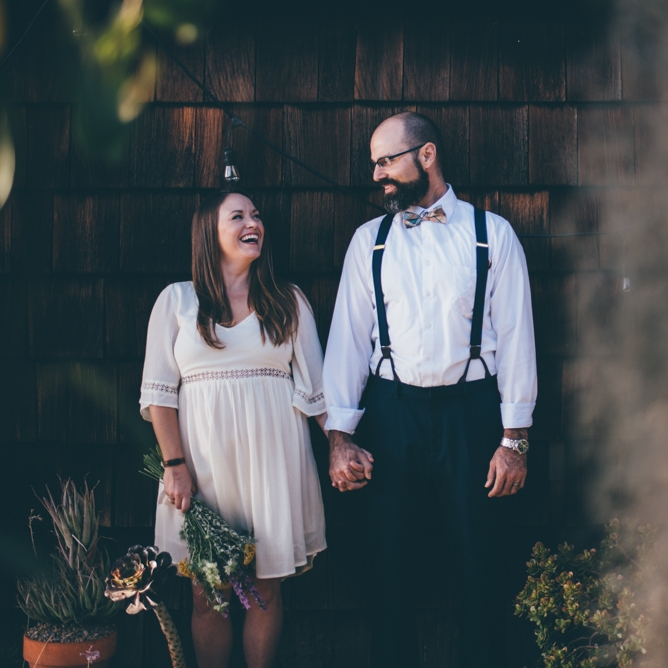 Boho San Diego Backyard Wedding by Debra Alison Photography