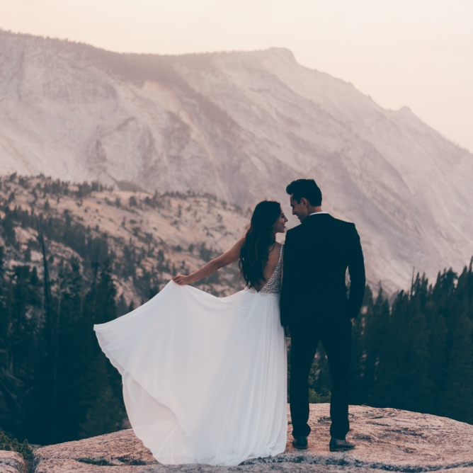 Yosemite Elopement by Debra Alison Photography