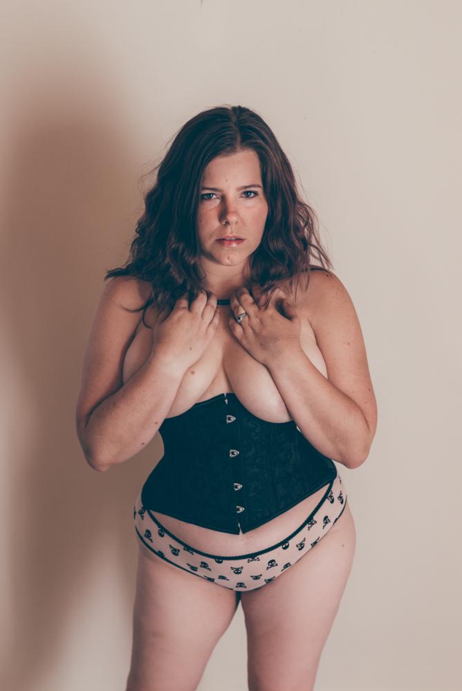 BDSM Boudoir Session by Debra Alison Photography