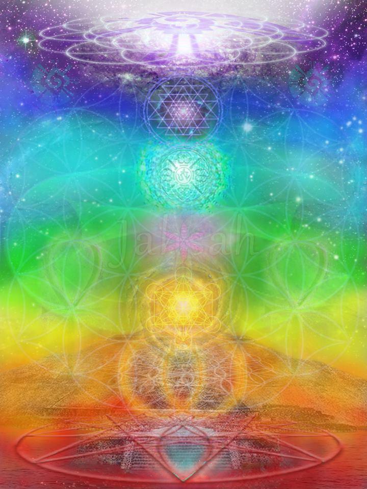 Sacred Journey Chakra Art 2013