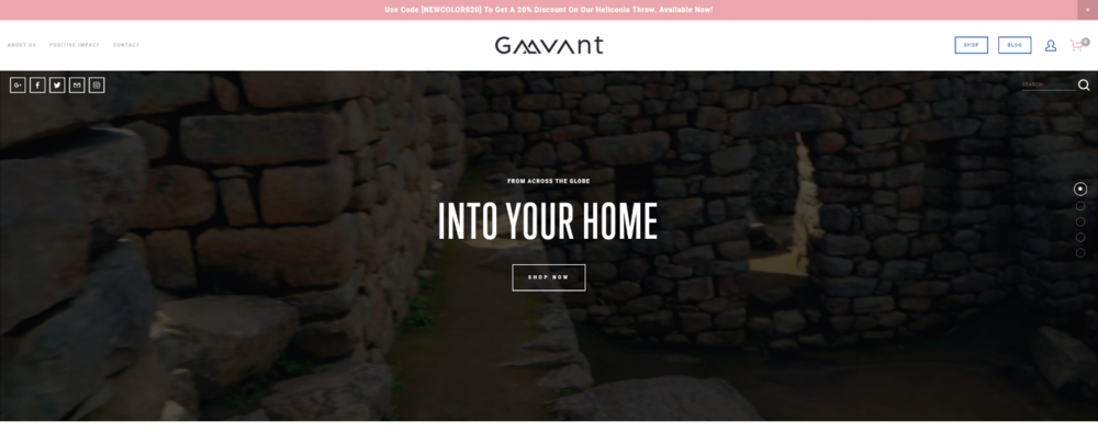 Galavant Website