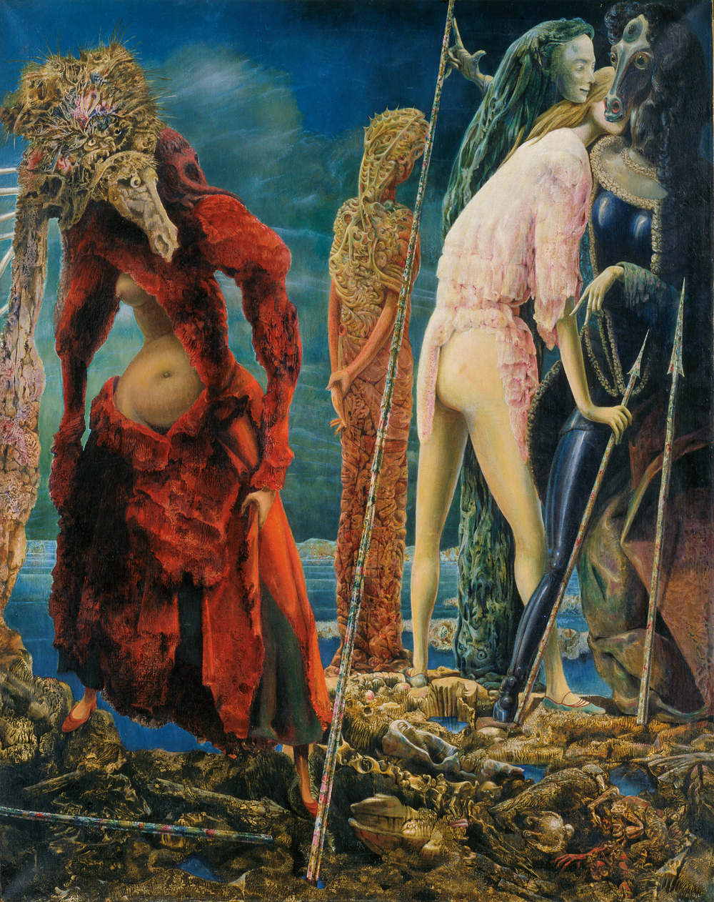 """The Antipope,"" Max Ernst"