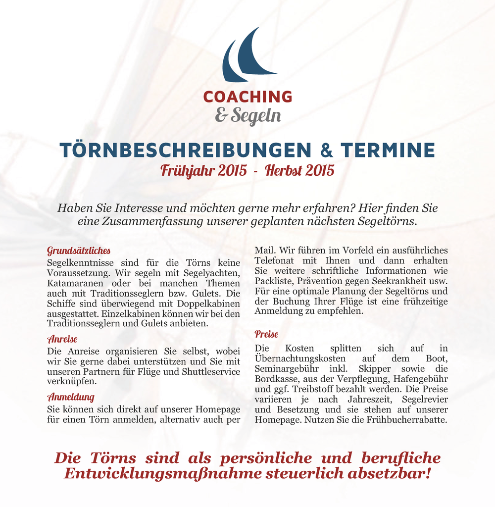 Broschüre — perform2excellence Coaching