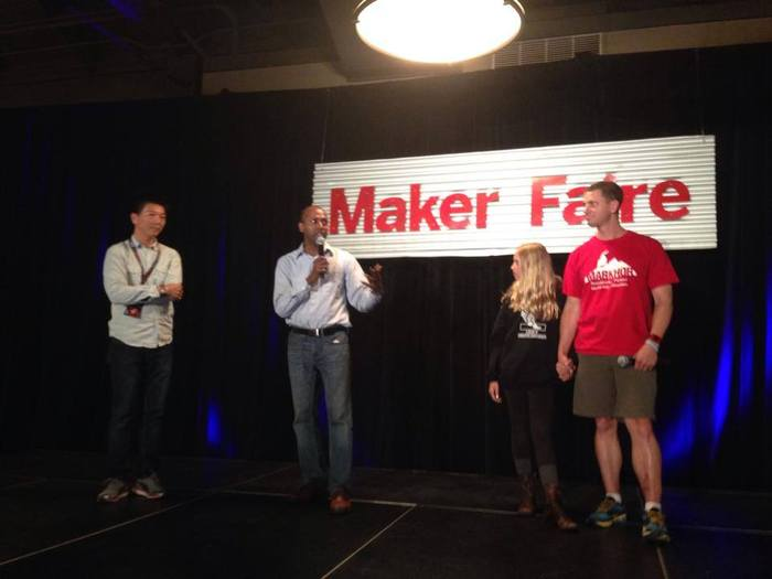 Maker world premiere @Maker Faire Bay Area