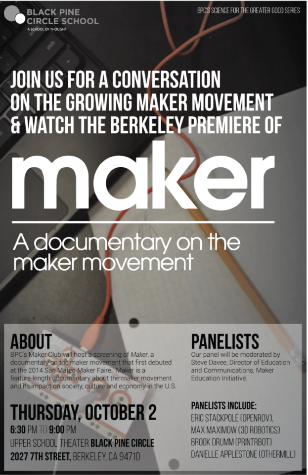 Maker's Berkeley premiere