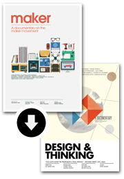 """Maker"" + ""Design & Thinking"" Two movies bundle $34.99"