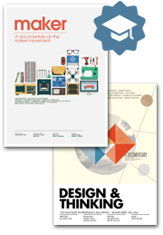 """Maker"" + ""Design & Thinking"" Educational DVD bundle $499"