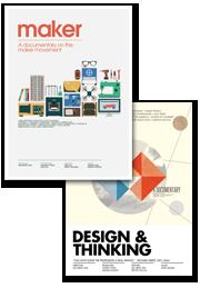 《自造世代》+《設計與思考》 雙電影 DVD 組合 新台幣990