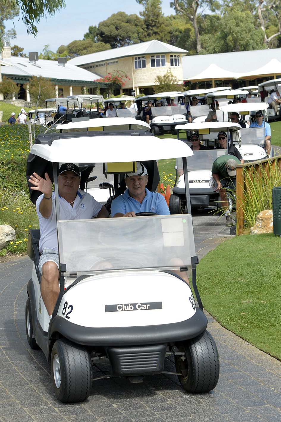 Bowls leads the carts.jpg