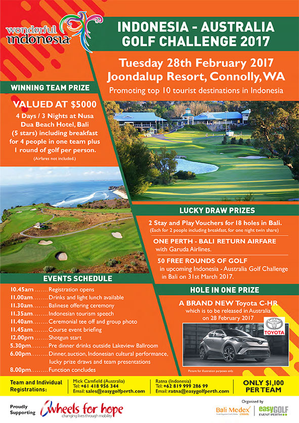 register today for the 2017 golf day