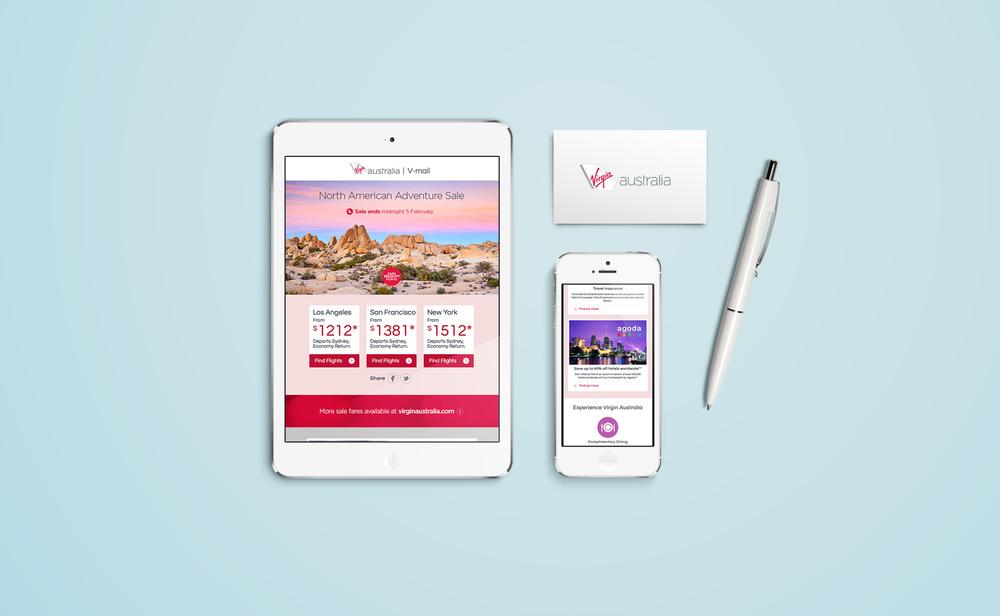 Virgin Australia V-mail