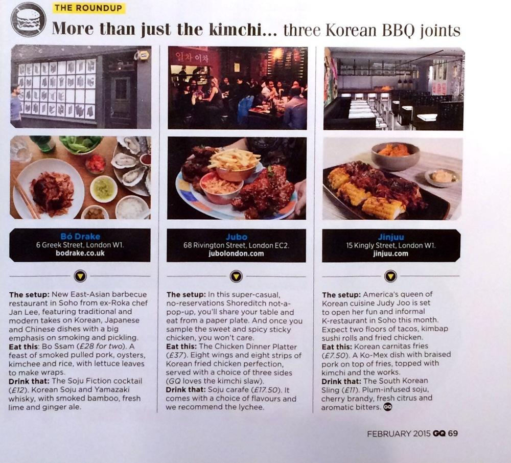 GQ Feb 2015 - Taste Section Roundup