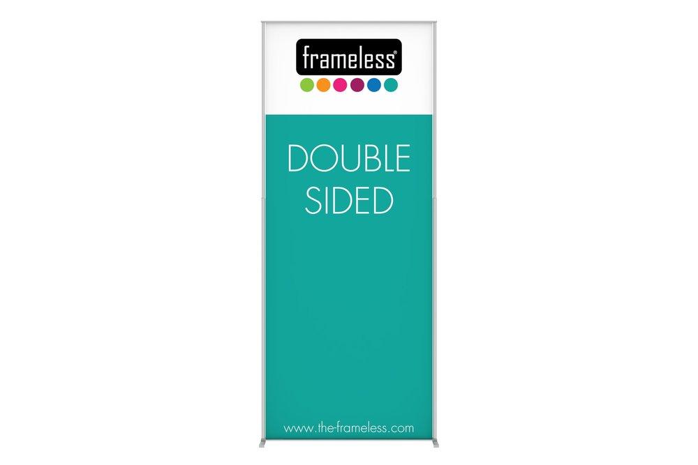 Frameless®Banner - Frameless® Banner modüler bir teşhir tanıtım sistemidir.
