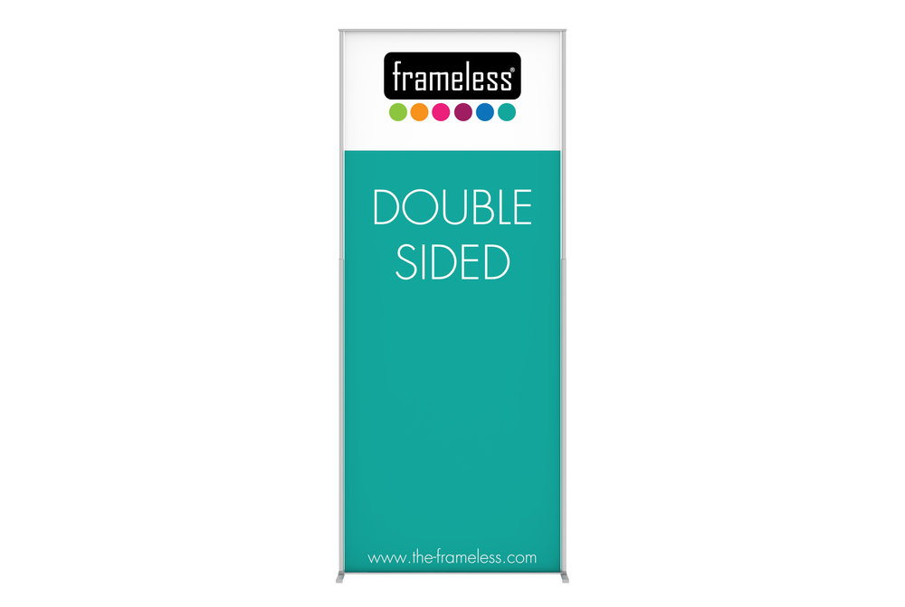 Frameless® Banner - Frameless® Banner is a eye catcher solution for your campaigns.