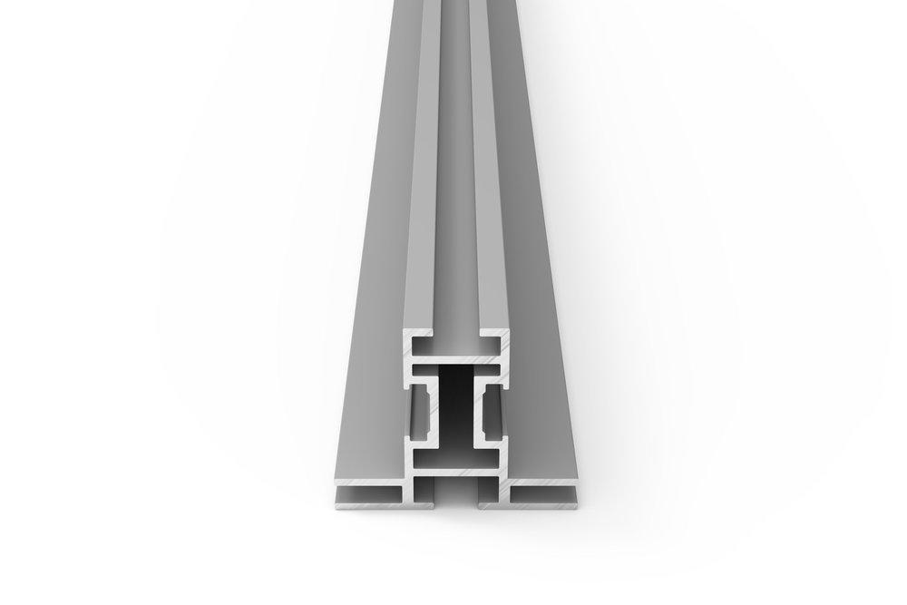 Frameless® Profiller - Frameless® profilleri 15mm'den, 180mm'ye kadar farklı derinliklerde mevcuttur.