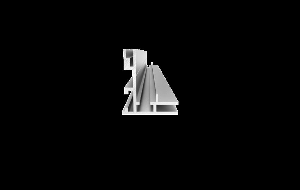 Profile 34 - Single SidedVisible edge 34mmEdgelit#FR-34