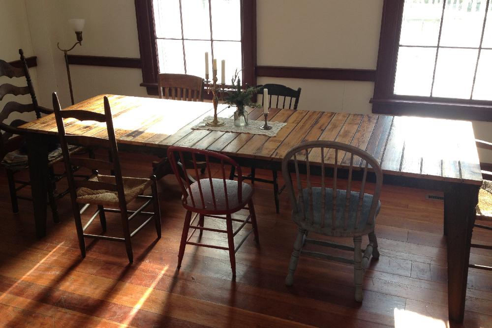 Modern Farm Tables ENJOINERY CUSTOM DESIGN FABRICATION