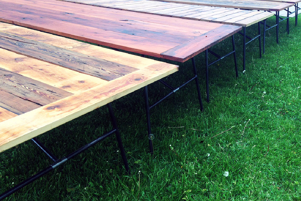 Modern Farm Tables ENJOINERY CUSTOM DESIGN FABRICATION