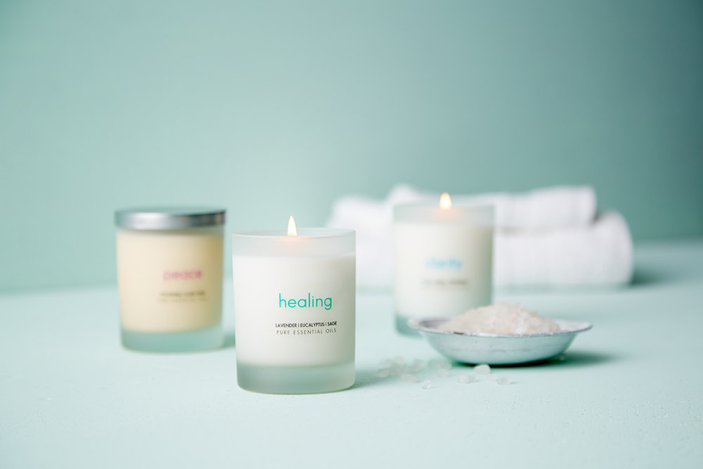 We are passionate about creating the highest quality & cleanest essential oil soy candle. - The Pure Candle contains the purest essential oils extracted from plants indigenous to their native regions. Combining these exclusive oils with soy wax creates the cleanest and healthiest candle incomparable to any other.   Our aromatherapy candles contain only plant-based ingredients, thereby emitting NO toxins or carcinogens.  Each soy candle is hand-poured and packaged mindfully and environmentally in Ft. Lauderdale, Florida.  Ask about our wholesale and private label programs.
