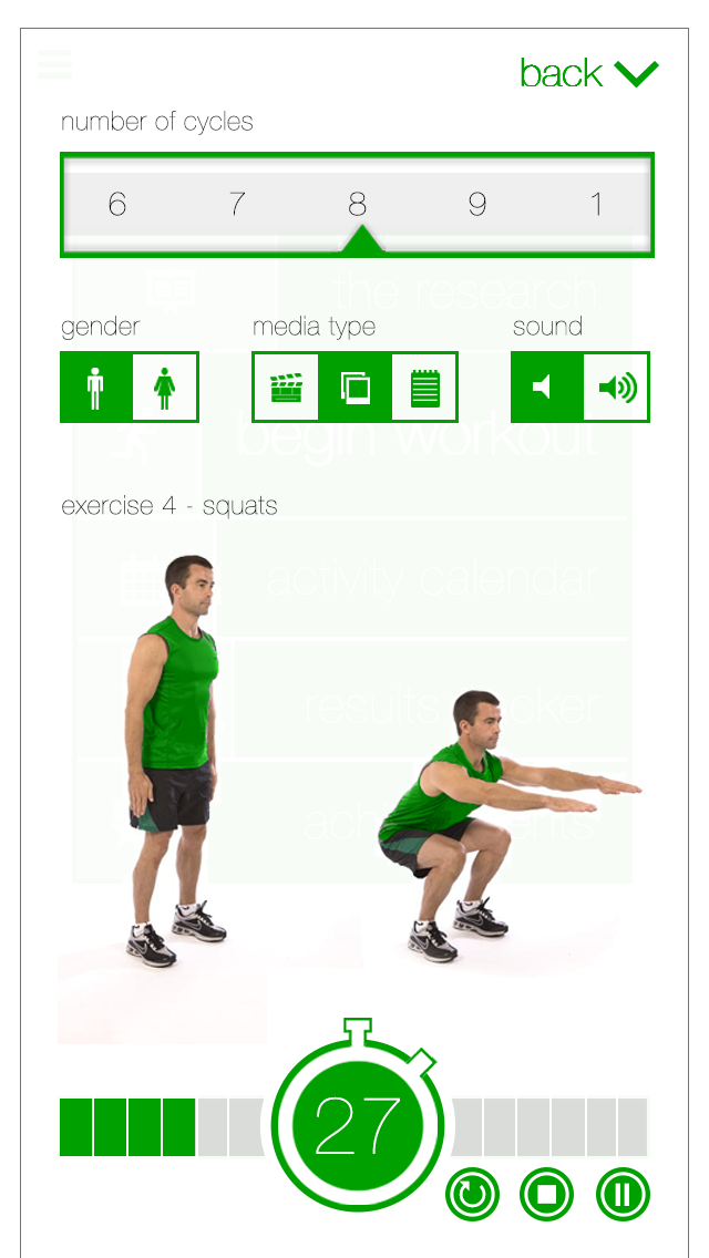 7 Minute Workout Challenge App