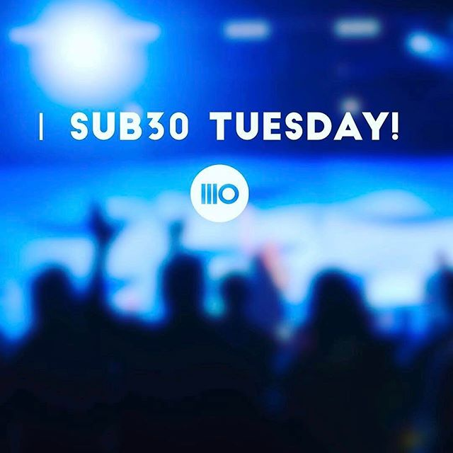 #sub30family Today is Sub30 Tuesday! Christ.Community.Conversation. Doors open at 6:45pm. Service begins at 7:05. See you there #bringafriend #crazyepic #forgetyou #sub30tampa #wearecrossing #hangout #youngadults #packthehouse