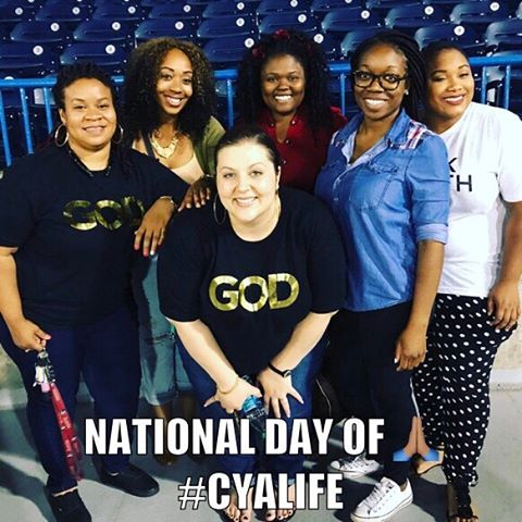We had a blast at the national day of prayer. A family that prays together.....@wearecrossing #WeAreCrossing #crossingyoungadults #lifeinjesus #wepray #seeyouonsaturday #cyalife