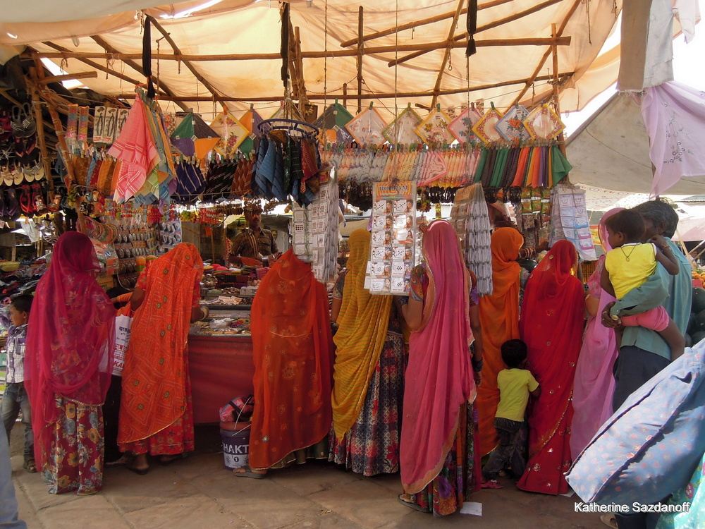 Market in Jodhpur, India